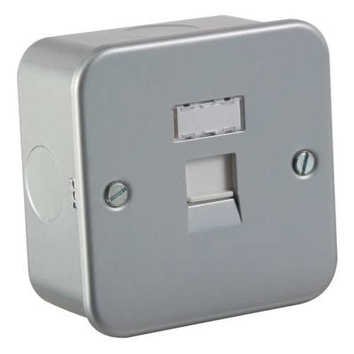 Metal Clad RJ45 CAT5e Network Outlet