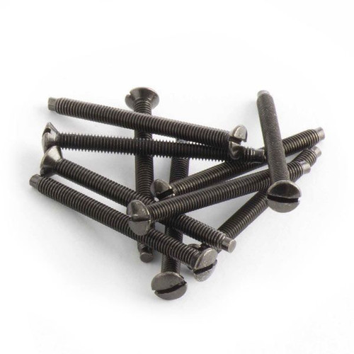 Pack of 10 Spare Black Nickel Screws For Nexus Metal Series M3.5x38mm