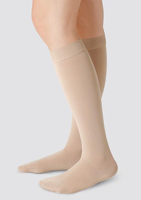 35aeb76a7d8d7d Juzo Soft - Below Knee Stockings with Silicone Border - SerraNova