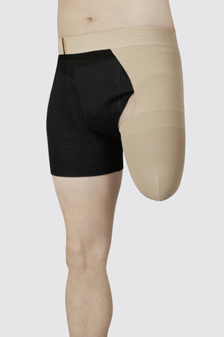 Juzo Above Knee Stump Shrinker with Hip Attachment