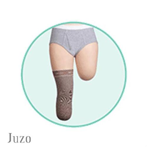Juzo Below Knee Stump Shrinker with Silicone Border