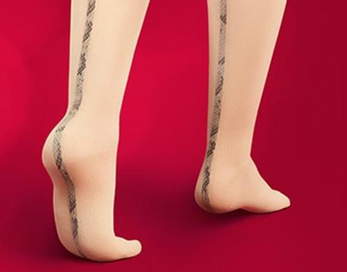 Lastofa Forte Knee High Stockings with griptop