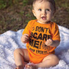 Shop for Funny Halloween Shirts & Gifts for Baby & Kids - Don't Scare Me Baby Shirt
