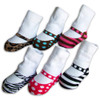 Baby Girl Striped Mary Jane Socks