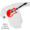 Personalized Guitar Playing Baby One-Piece