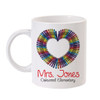 Personalized Color Your Love Mug