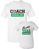 Coach Dad Shirt Set: Soccer