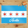 Personalized Chicago Laminated Placemat
