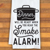Dinner Is Ready Kitchen Towel