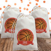 Personalized Party Favor Bag: Basketball
