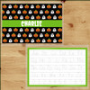 Personalized Boo-tiful Halloween Laminated Placemat