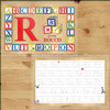Personalized Rock Blocks Alphabet Laminated Placemat