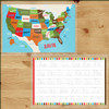 Personalized Hey Hey USA Laminated Placemat Bold
