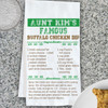 Personalized Game Day Recipe Kitchen Towel