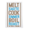 Personalized Mod Squad Cook Towel