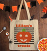 Personalized Lil' Pumpkin Trick Or Treat Bag