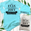 Personalized Baby Production Gown Set