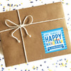 Personalized Have Yourself A Happy Hanukkah Gift Stickers