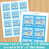 Personalized Have Yourself A Happy Hanukkah Stickers