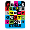 Personalized Rockin' ABCs Blanket