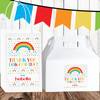 Personalized Birthday Favor Kit: Happy Little Rainbow
