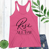 Rose All Day Racerback Tank Top