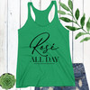 Rose All Day Racerback Tank Top (More Colors!)