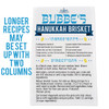 Personalized Hanukkah Family Recipe Kitchen Towel
