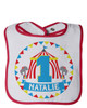 Personalized First Birthday Bib: Big Top Circus