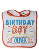 Personalized First Birthday Bib: Party Time Boy