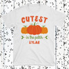Personalized Cutest Pumpkin in the Patch Baby Shirt