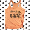 Everyday is for Football Racerback Tank Top