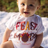 Personalized Feast Mode Thanksgiving Baby Shirt