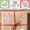 Personalized Funny Christmas Gift Stickers