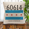 Personalized Chicago Classic Throw Pillow Cover