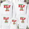 Personalized Family Elf Christmas Shirts