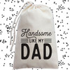 Personalized Handsome Like My Dad Baby Gift Set