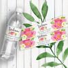 Personalized Wedding Water Bottle Labels: Summer Breeze