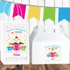 Personalized Birthday Favor Kit: Sweet Sprinkles Cupcake