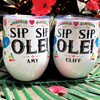 Personalized Sip Sip Ole Mexico Wine Tumbler