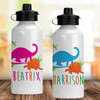 Personalized Water Bottle: Jurassic Dinosaur (More Colors!)