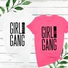 Custom Girl Gang Sorority Big & Little T-Shirt