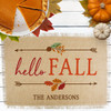 Personalized Hello Fall Jute Placemat
