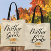 Custom Tote Bags: Fall in Love Bridal Party