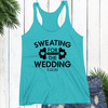 Personalized Sweating for The Wedding Tank Top  + Workout Towel (More Colors!)