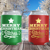 Merry Christmas Bitches Can Coolers- Slim Can Sleeves and Holiday Can Cozies