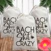 Canvas Favor Bags: Bach Shit Crazy