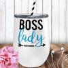 Personalized Boss Lady Wine Tumbler