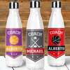 Personalized Coach Stainless Steel Water Bottle