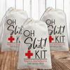 Custom Canvas Favor Bags: Oh Shh.. Kit